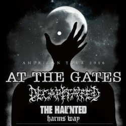 At The Gates тур