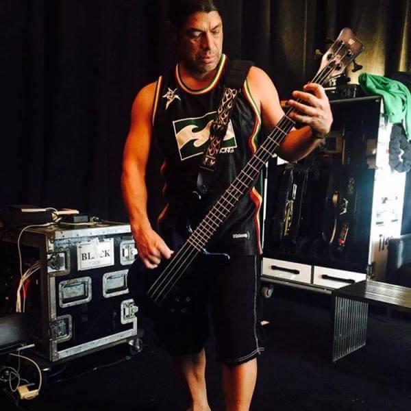 Басист Metallica Роберт Трухильо