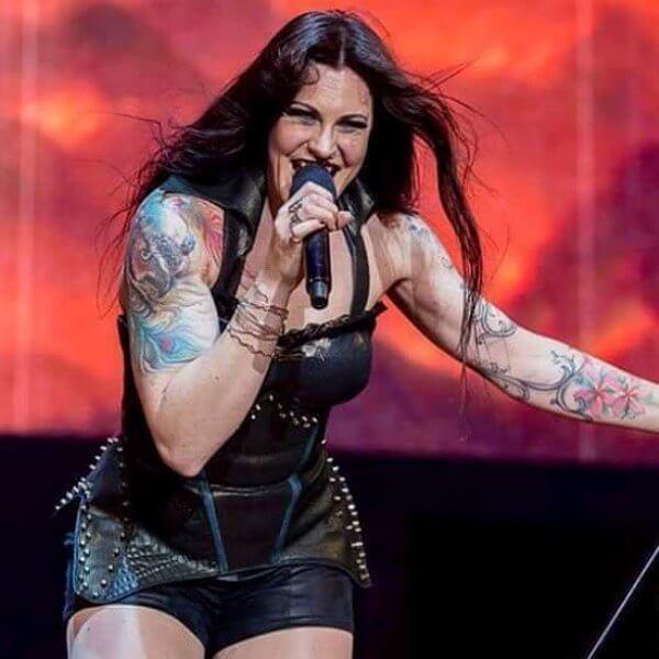 Вокалистка Nightwish Флор Янсен